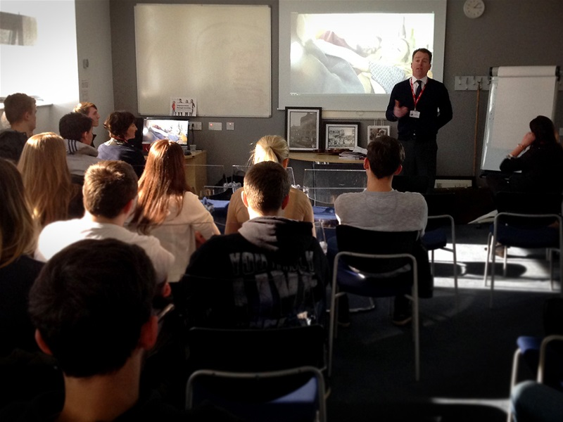 Students learn all about local business Arighi Bianchi