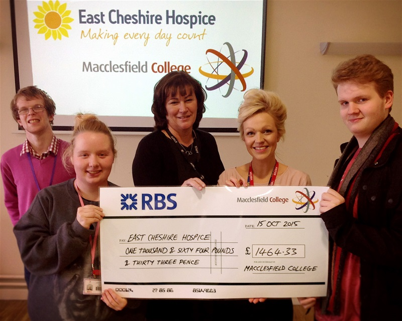 College raises over £3000 for charities