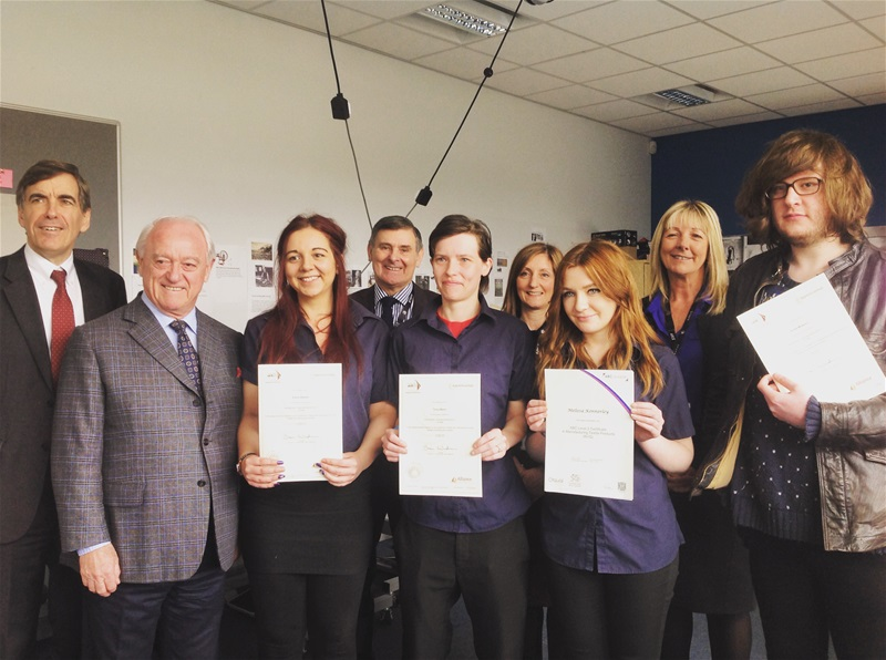 Local MP congratulates Apprenticeship for their silky skills