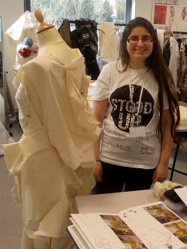 Fashion student 'stand ups' at the House of Lords