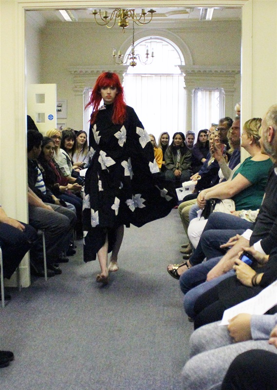 Students wow with stunning fashion show