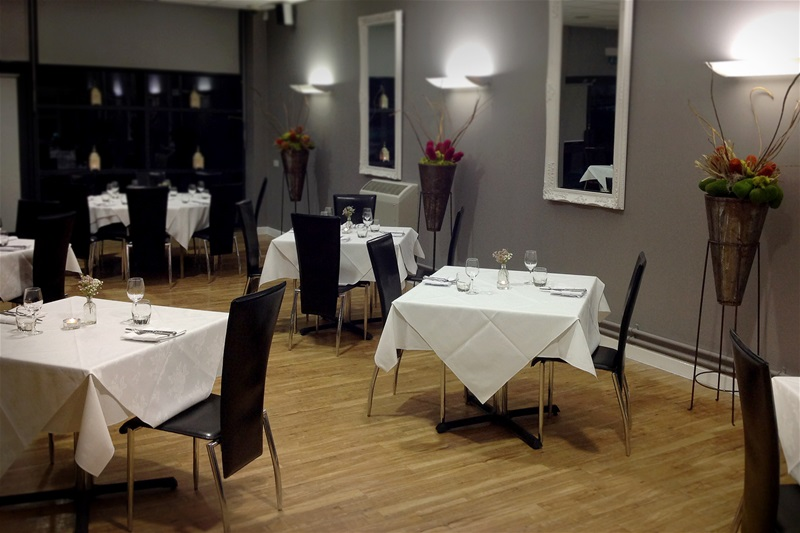 View of the Silk Room Restaurant's dining area