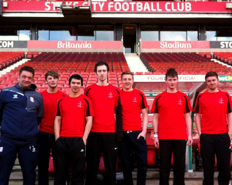 HND Sport students visit Stoke City FC to shadow coaching staff
