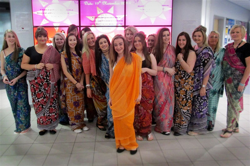 Travel students get a taste for India