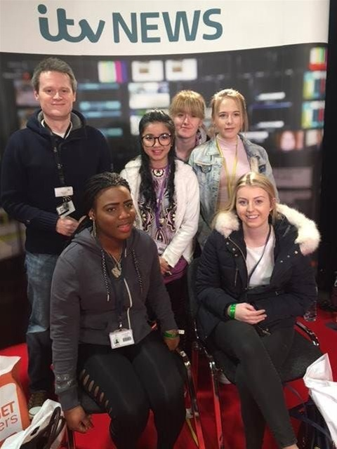 Foundation Learning students at Skills North West.