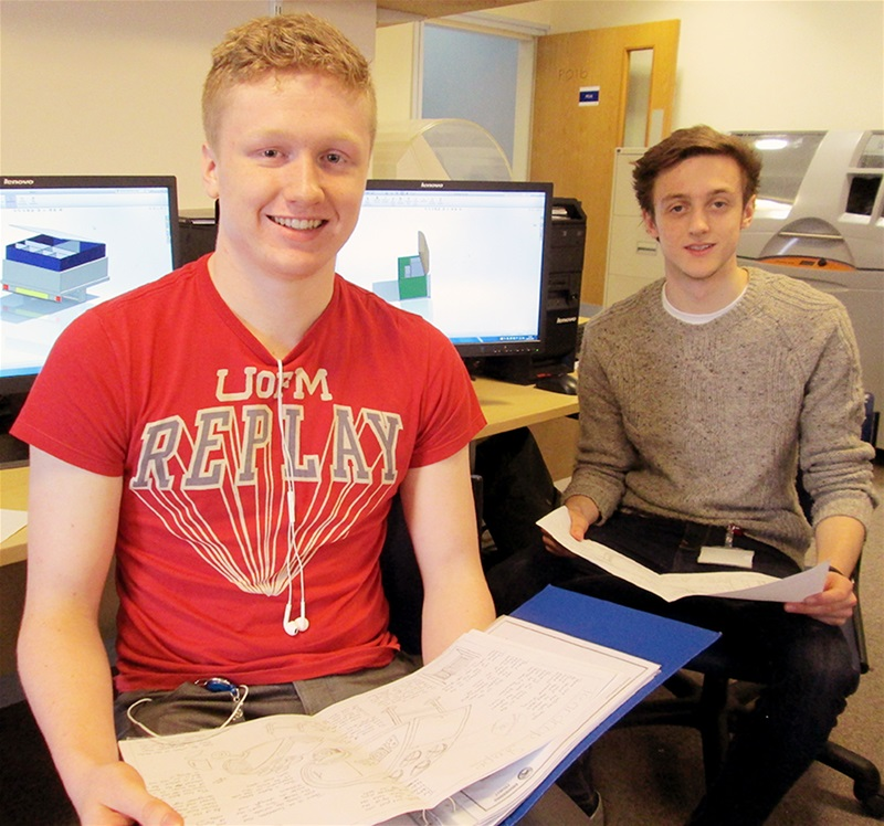 Engineering students secure place at top university!