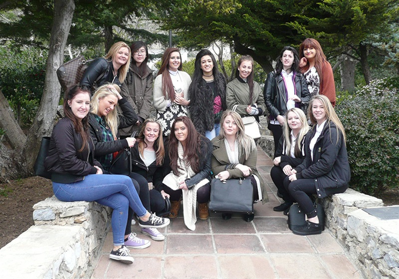 Travel and Tourism students sample life as a holiday rep